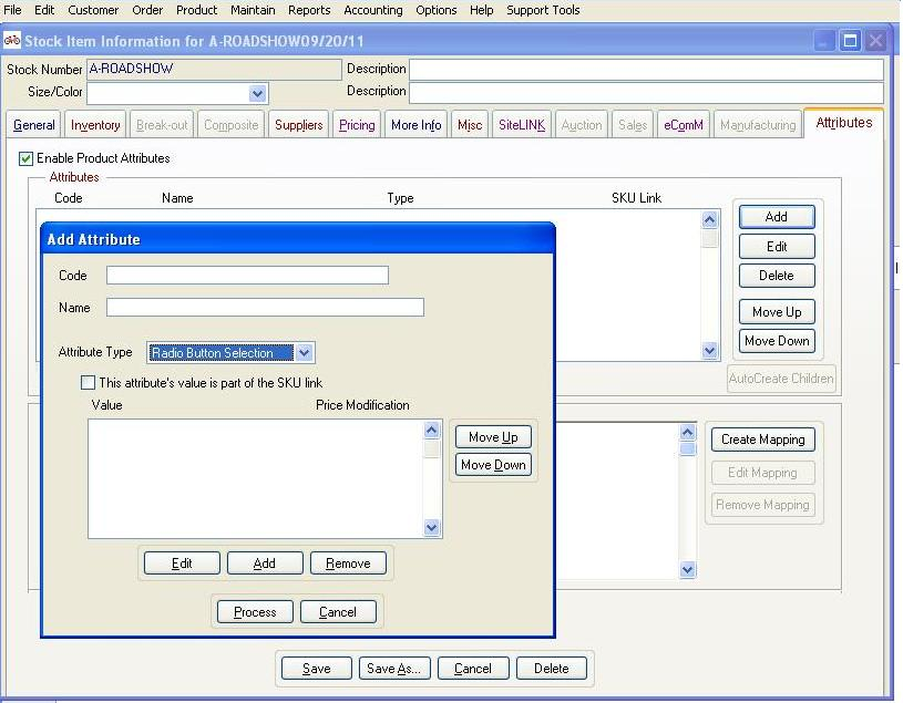 Product Attribute Setup1 Important Multichannel Order Manager Tip for Your Multichannel Business
